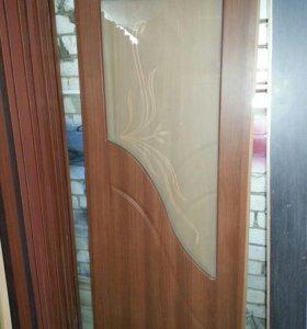 Двери фрезерованные ПВХ
