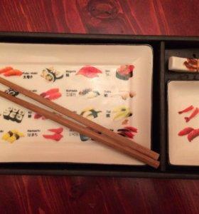 Набор для суши керамика новый
