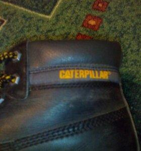 Кожаные ботинки CATERPILLAR