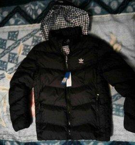 Куртка осень-зима adidas (турция) новая