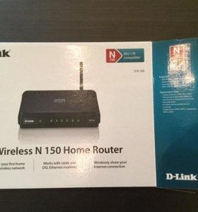 Роутер D-Link.  DIR-300.