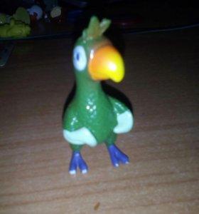 Фигурка попугая из игры мой говорящий попугай