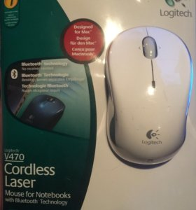 Блютуз лазерная мышь Logitech