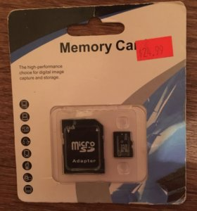 Карта памяти с адаптером  Micro SD 32GB