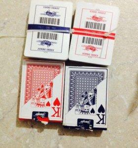 Покерные карты, новые!