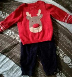 Комплект свитер+штанишки