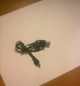 Шнур USB с переходником для звука