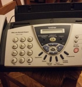 Факс brother FAX T106