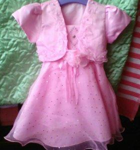 Праздничное платье1-1,5 года