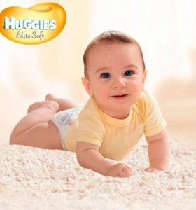 Подгузники Huggies Elite Soft (4) 8-14 кг  36 шт