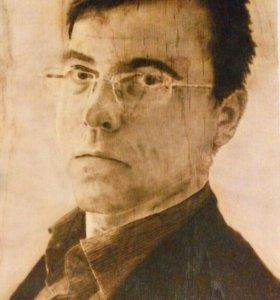 Профессиональный художник Портрет на фонере