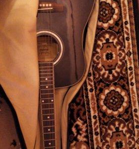 Гитара Adams 4101 чёрная + чехол