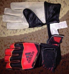 Adidas predator перчатки