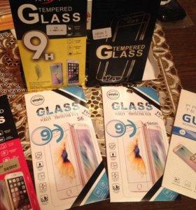 Защитное стекло для iPhone 5,5s,6,6s для samsung