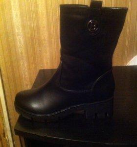 Женские ботинки 39 размера