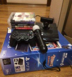 PS3 и 6 игр.