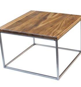 Новые столы из дуба и металла