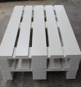 Новый стол из паллет / поддонов
