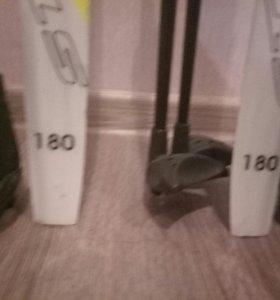 Продаю лыжи с ботинками