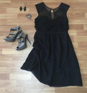 Платье/босоножки/бижутерия