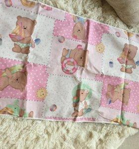 Пеленки и подстилка резиновая для новорожденных