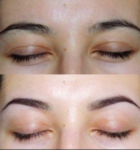Коррекция бровей,эпиляция,макияж