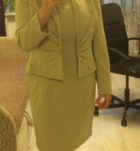 Костюм ( платье и пиджак)
