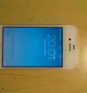 iPhone 4s 8Gb Белый
