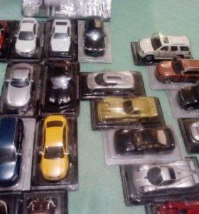 Коллекция моделей 1:43