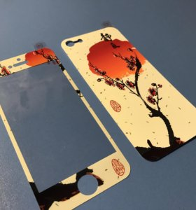 Плёнка цветная на iPhone 5/5s/SE
