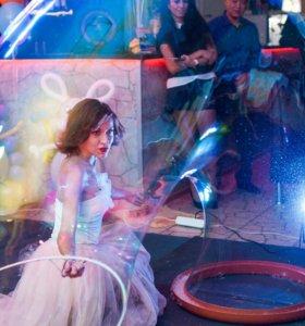 Шоу гигантских мыльных пузырей Миражи