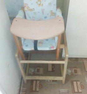 Детский стульчик и манеж