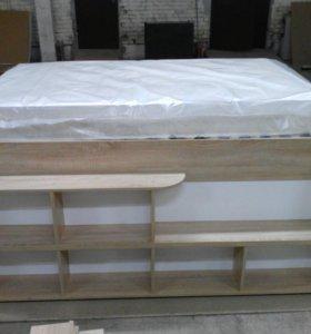 Двухспальная кровать Tvist