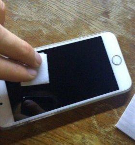 защитные стекла на iPhone 4,4s,5,5s,5se,6,6s,7