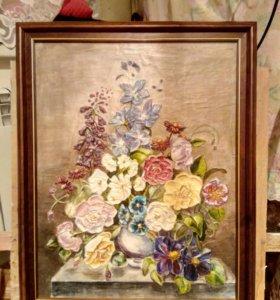 Картина барельеф