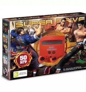 Sega Tekken 50 встроенных игр. НОВАЯ