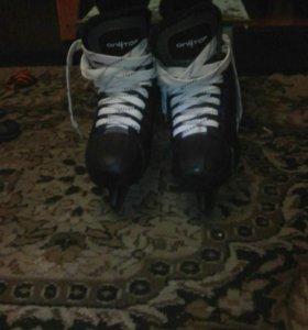Коньки для хоккея размер 41