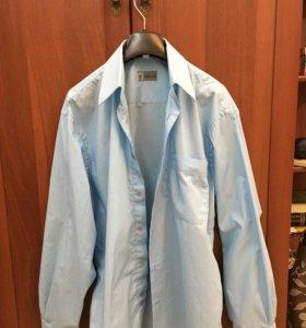 Рубашка мужская р.40 по вороту на рост 170-176