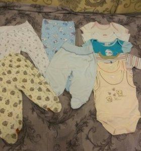 Боди,ползунки,кофточки,футболки на малыша.