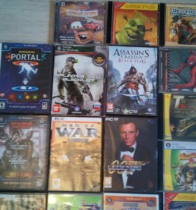 Диски с играми для PC