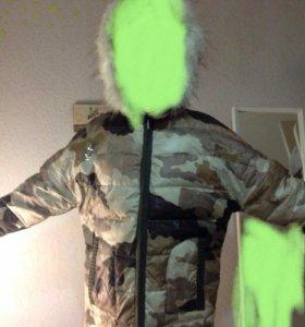 Зимняя куртка(камуфляж)