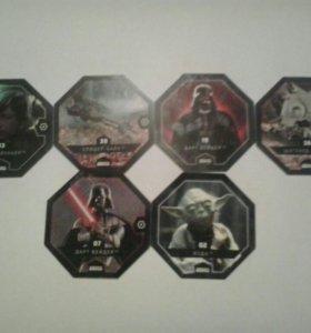 Жетоны Звёздные войны