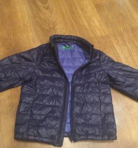 Куртка 5-6летбенеттон
