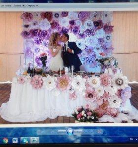Оформление праздников свадеб