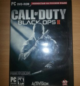 Компьютерная игра CoD Black Ops 2