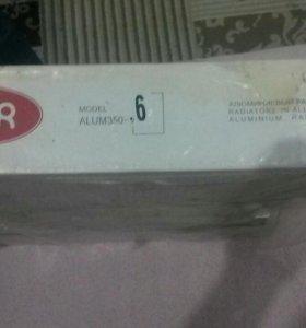 Алюминивый радиатор