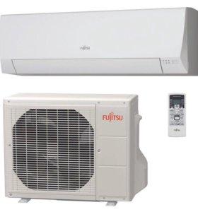 Кондиционер Инверторный Fujitsu ASHG07 LLCC Новый