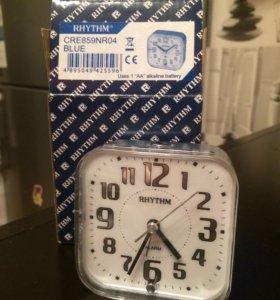 Новые часы-будильник Rhythm