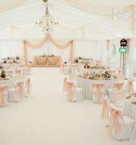 Свадебное оформление зала, букеты невесты,флорист,