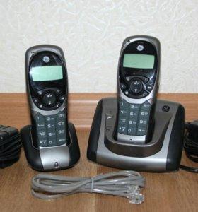 Радиотелефон Panasonic KX-TG6511RU с 2-мя трубками